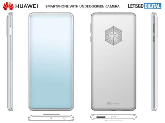 huawei smartphone penta camera