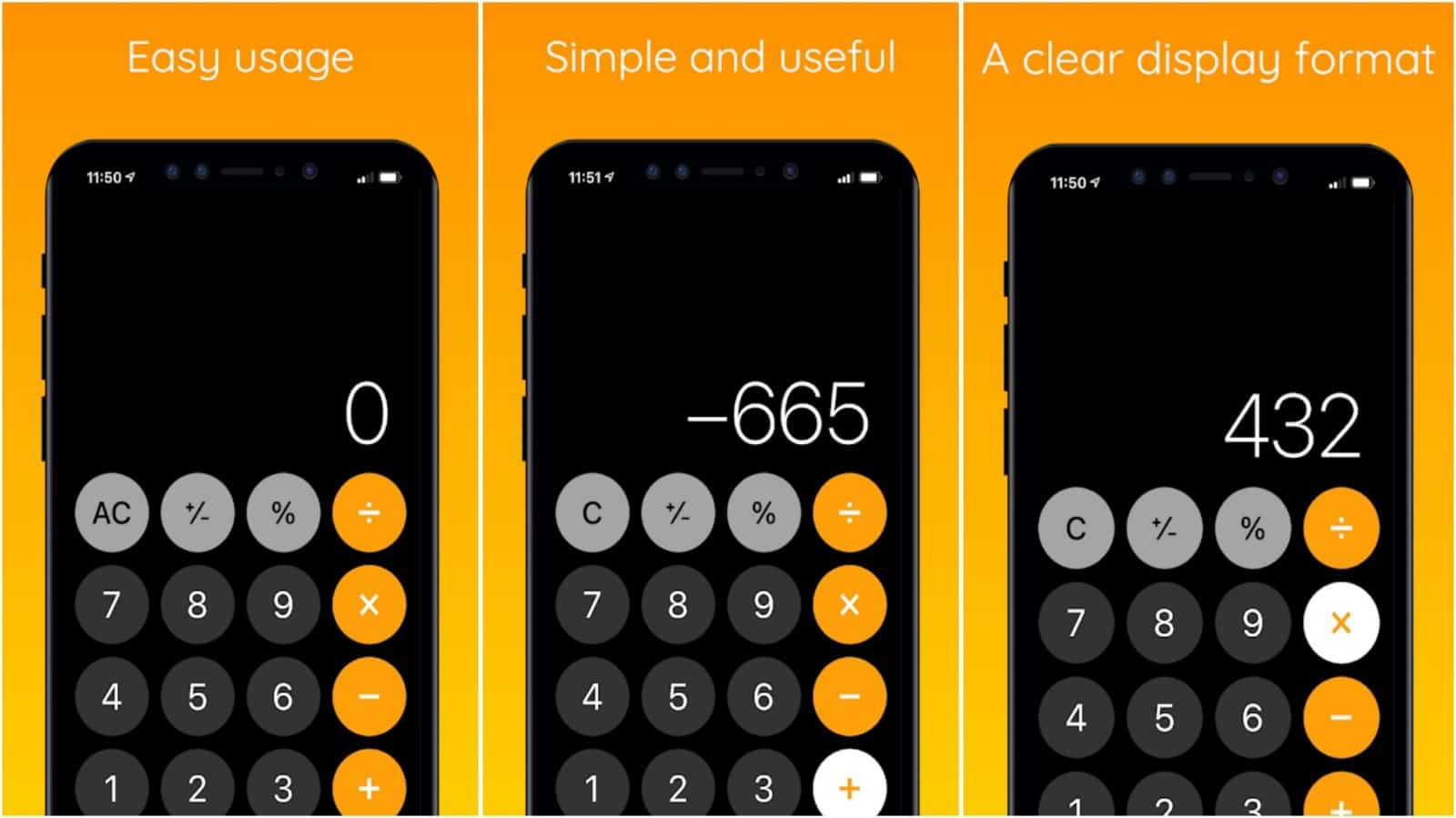 iCalculator app grid image