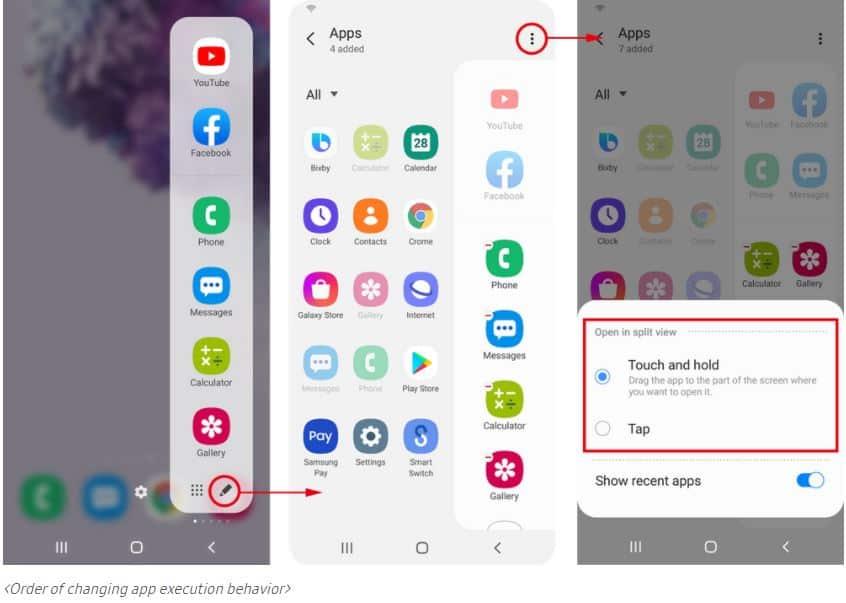 one ui 2 5 multitasking features