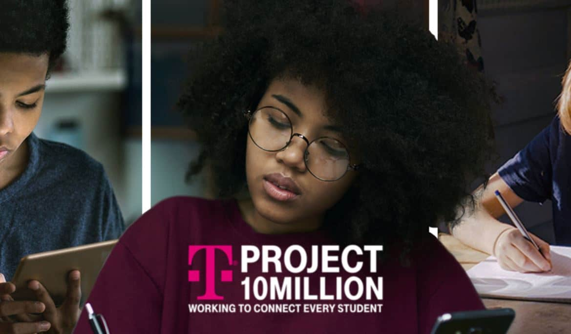 Mobile using Project 10 Million to give students free internet