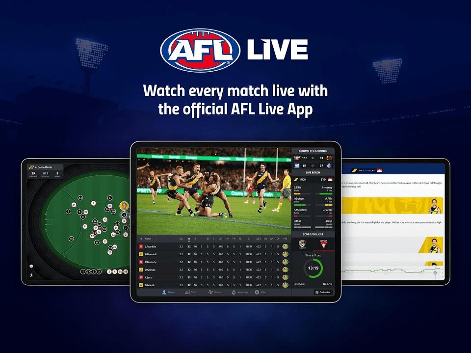 AFL Live app