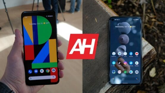 AH Google Pixel 4 XL vs Google Pixel 5 comparison