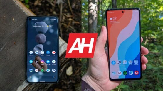 AH Google Pixel 5 vs Samsung Galaxy S20 FE comparison