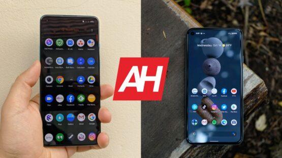 AH OnePlus 8T vs Google Pixel 5 comparison
