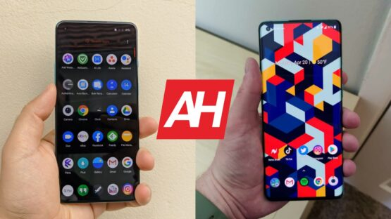 AH OnePlus 8T vs OnePlus 8 Pro comparison
