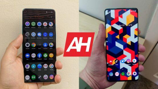 AH OnePlus 8T vs OnePlus 8 Pro comparison