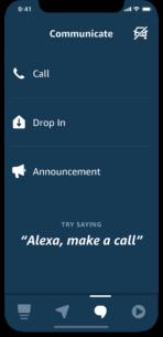 Alexa-Auto-Mode-Communicate-screen