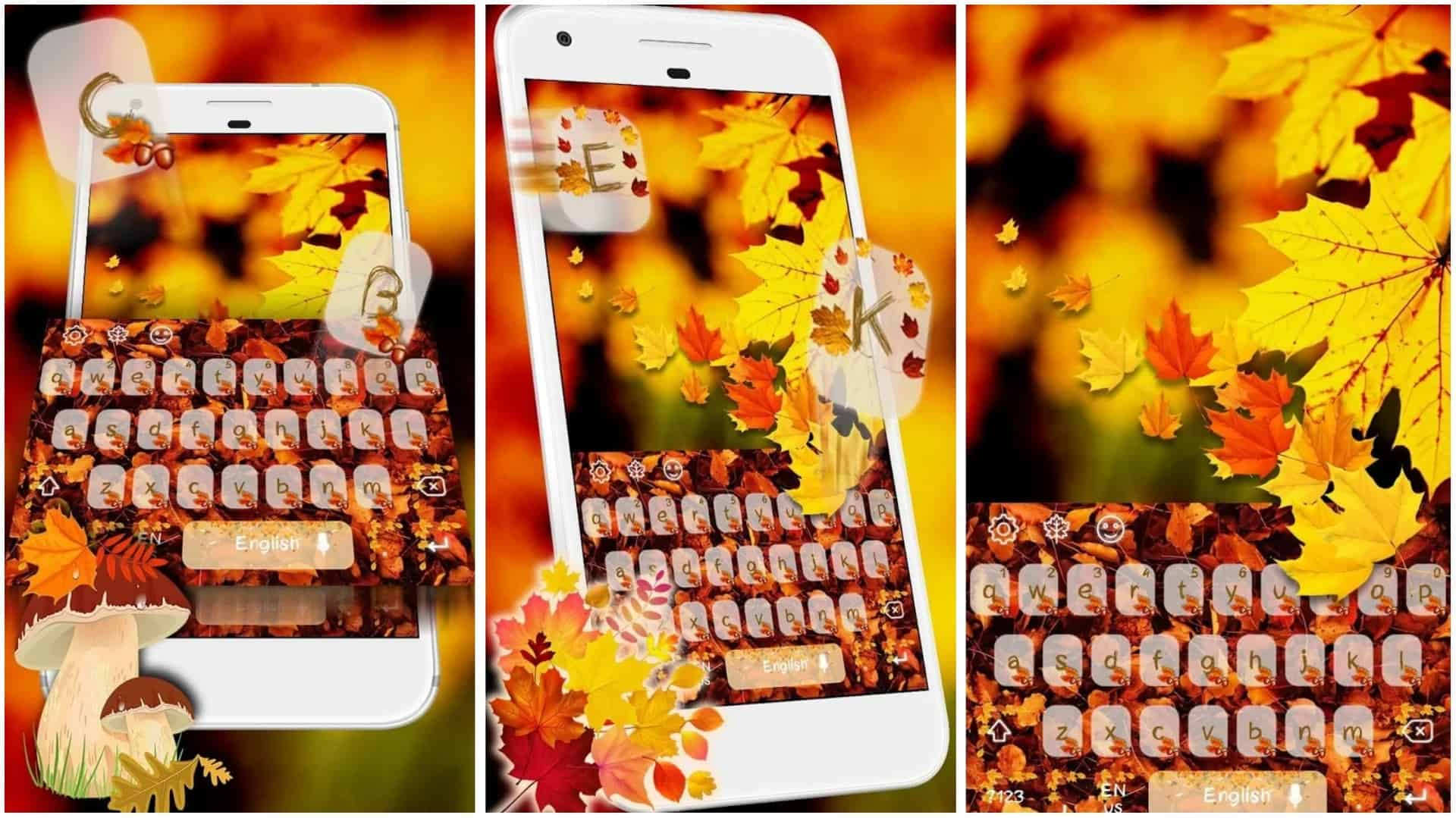 Autumn Mample Keyboard app grid image