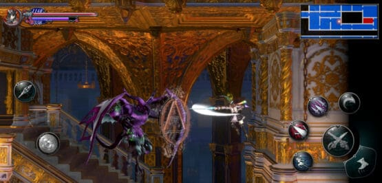 Bloodstained Metroidvania game