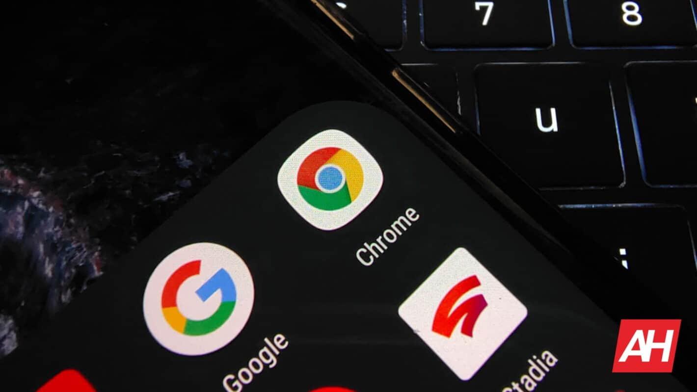 Chrome on Keyboard DG AH 2020