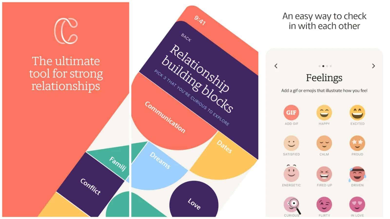 Coupleness app grid image