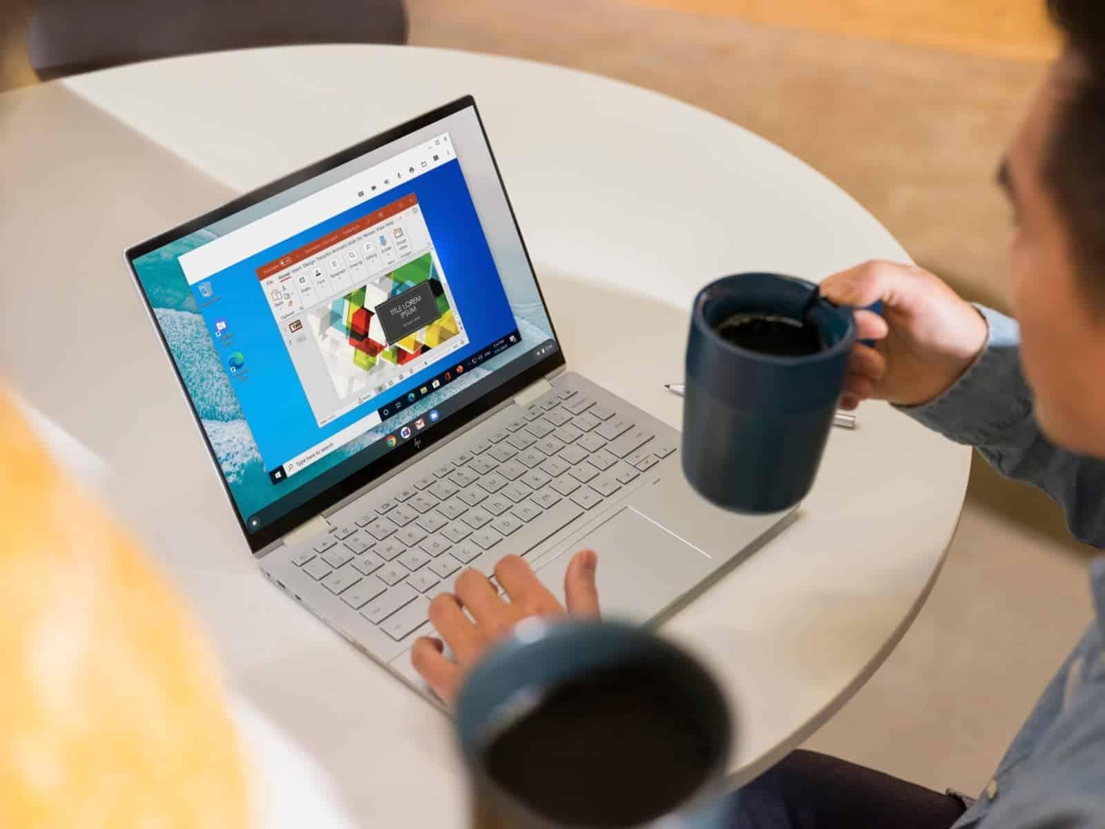 DONT USE Before Oct 20 2020 Parallels Desktop for HP Chromebook Enterprise HP Elite c1030 Chromebook Enterprise Workspace