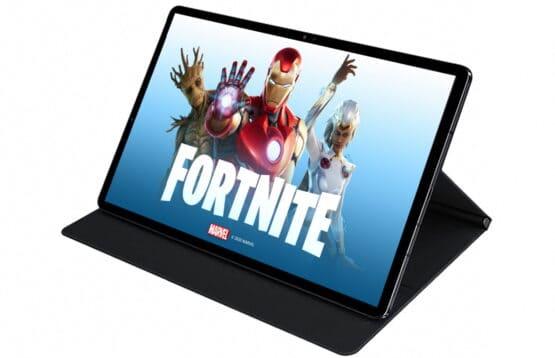 Fortnite Galaxy Tab S7