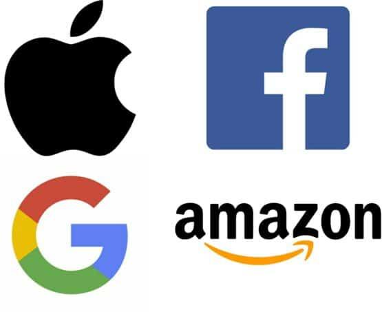 Four tech giants