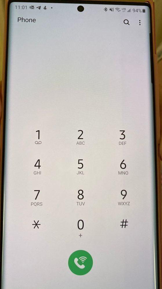 Galaxy Note 20 Ultra S View Flip Cover Screen Burn in