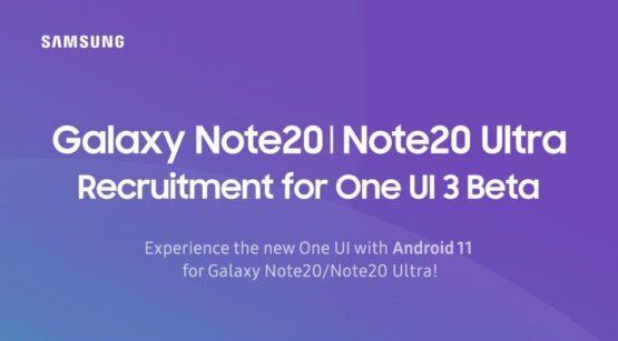 Galaxy Note20 Series One UI 3 0 Beta