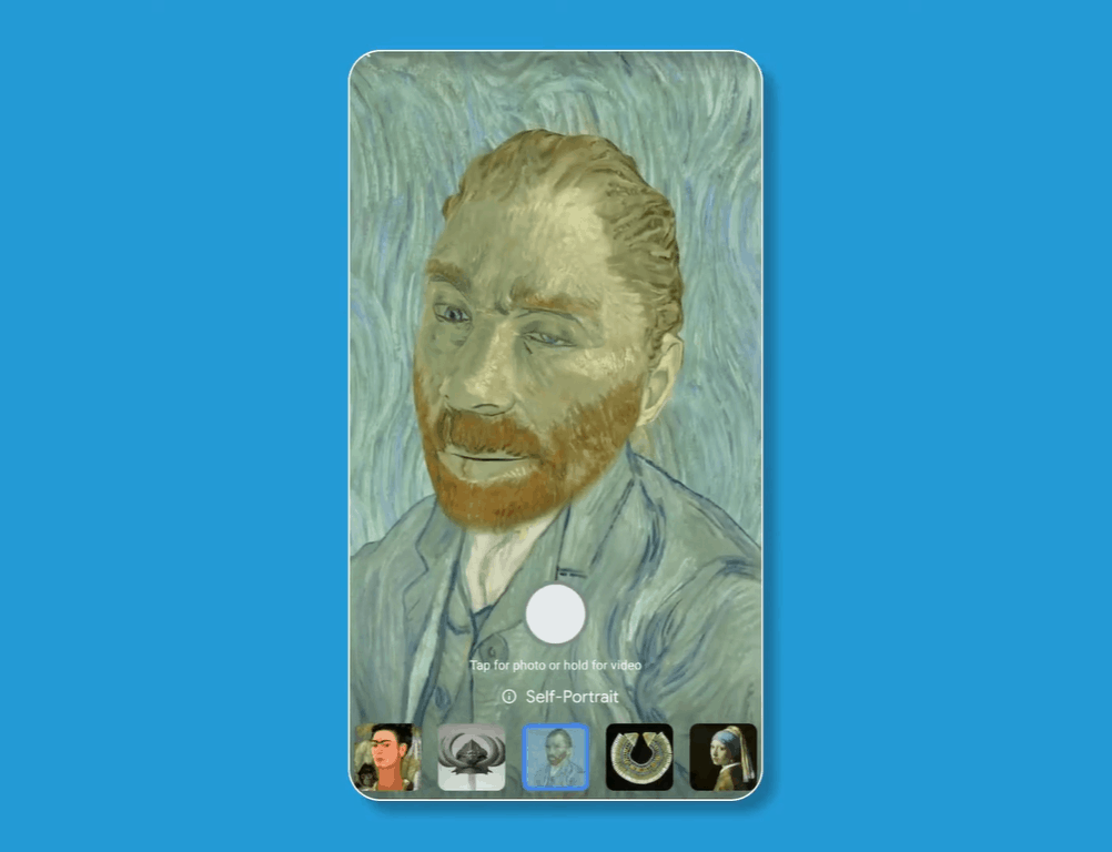 Google Arts Culture AR filters