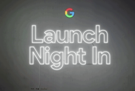 Google Launch Night In Event 2020