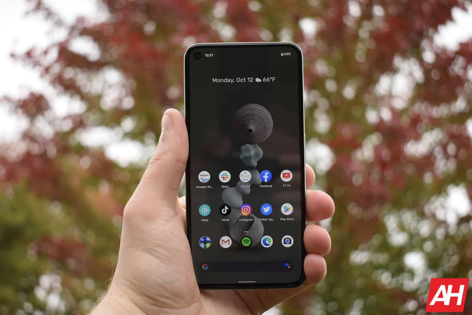 Google Pixel review 5 AM AH 23