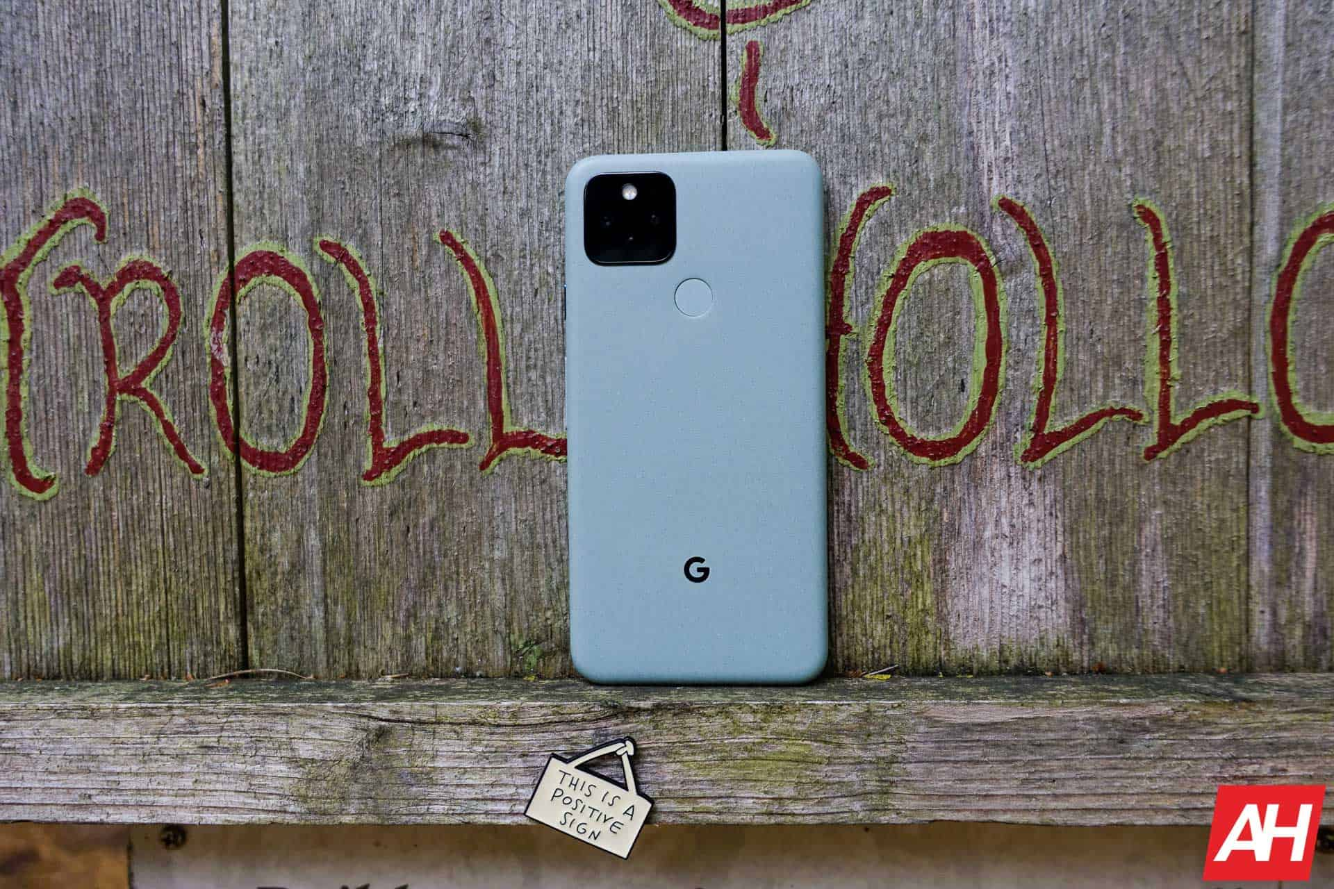 Google Pixel 5 Review AM AH 3