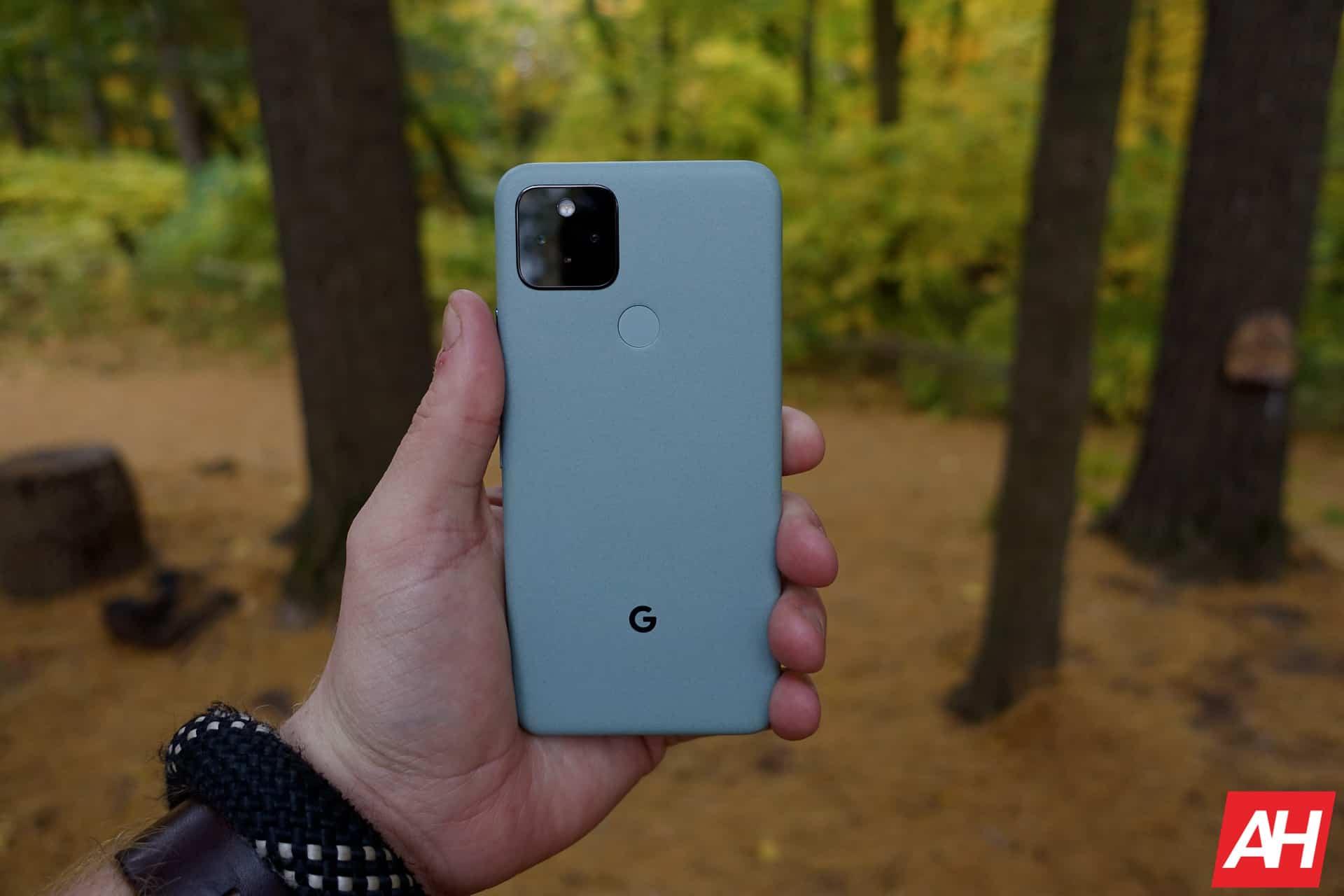 Google Pixel 5 Review AM AH 4
