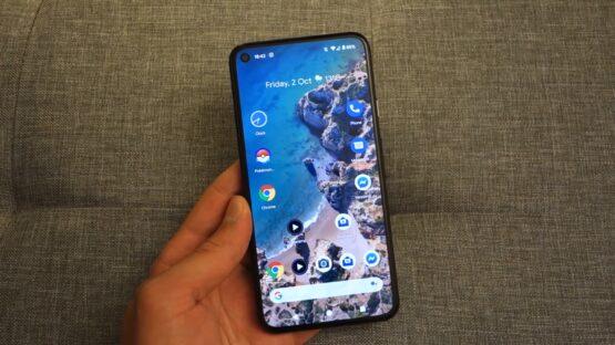 Google Pixel 5 hands on video image 22