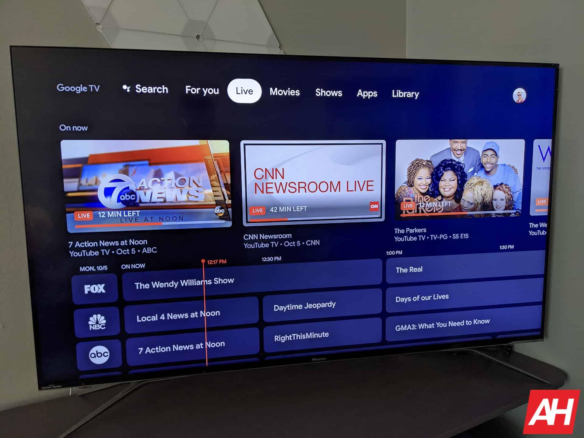 Google TV Chromecast AM AH 1