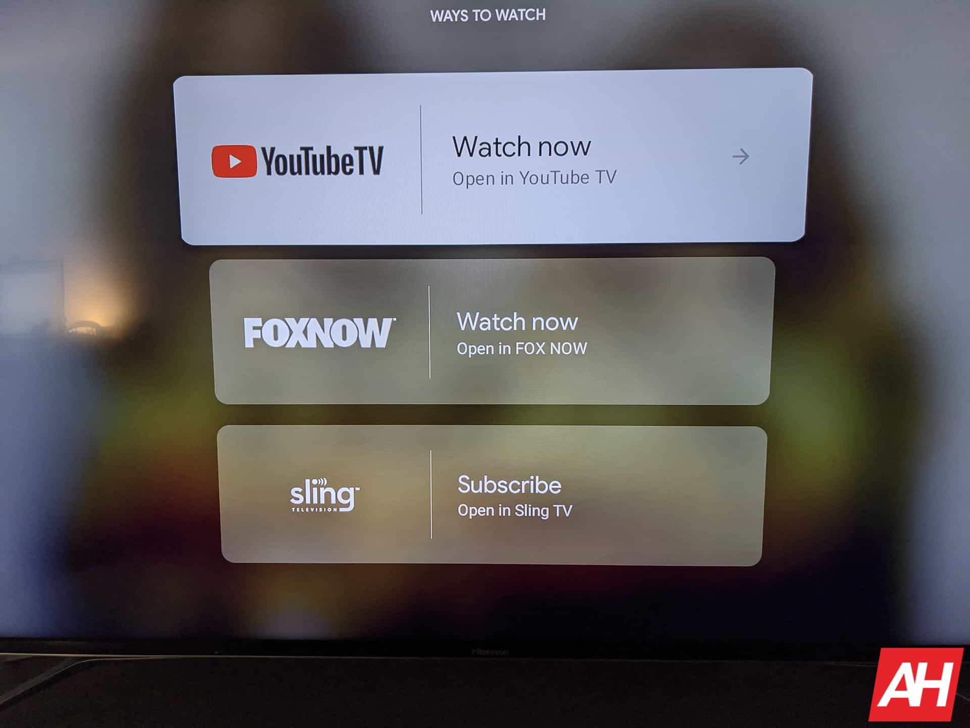 Google TV Chromecast AM AH 5