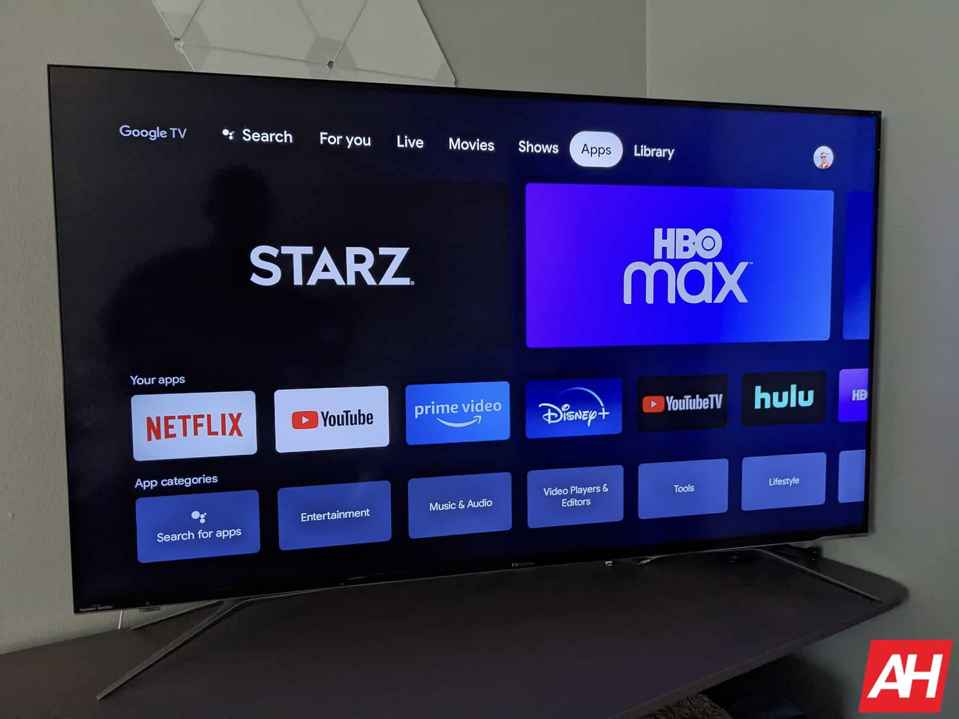 Google TV Chromecast AM AH 6
