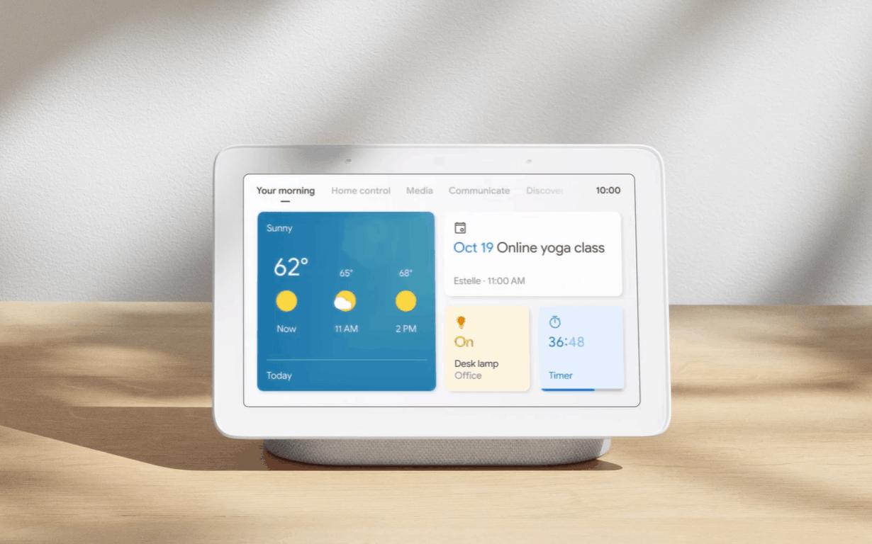 Google update smart displays