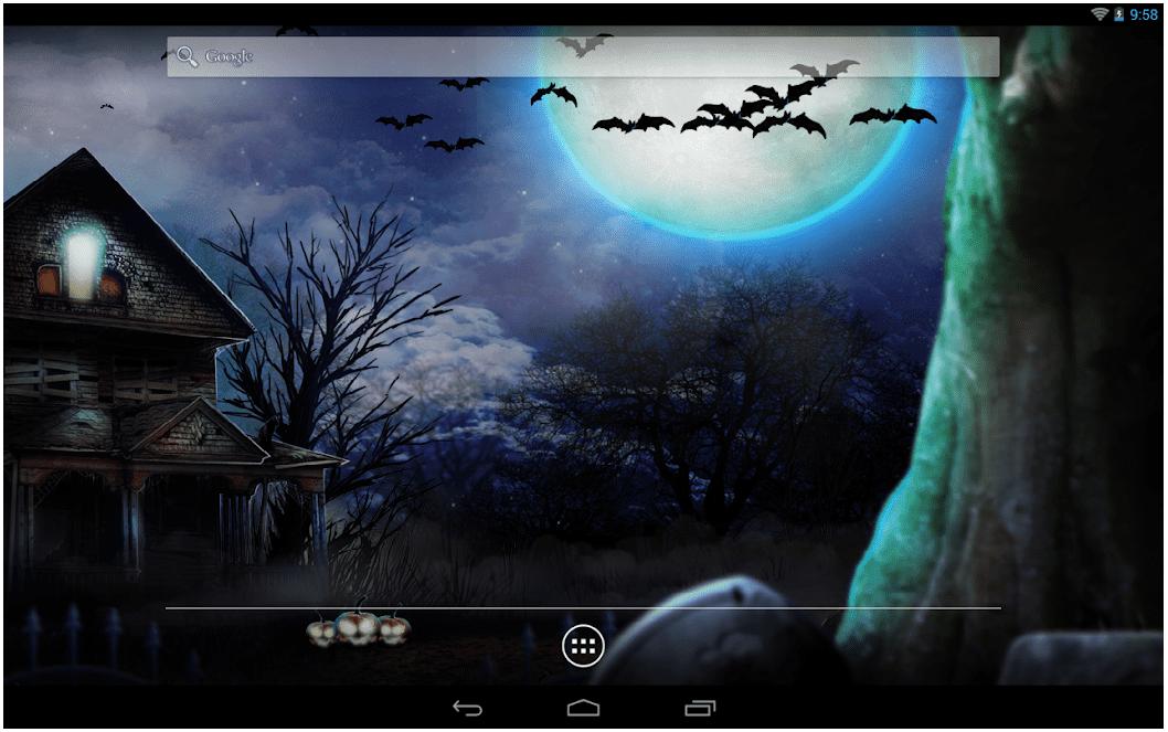Halloween Live Wallpaper 2