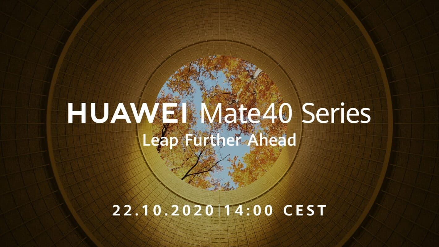 Huawei Mate 40 series event announcement