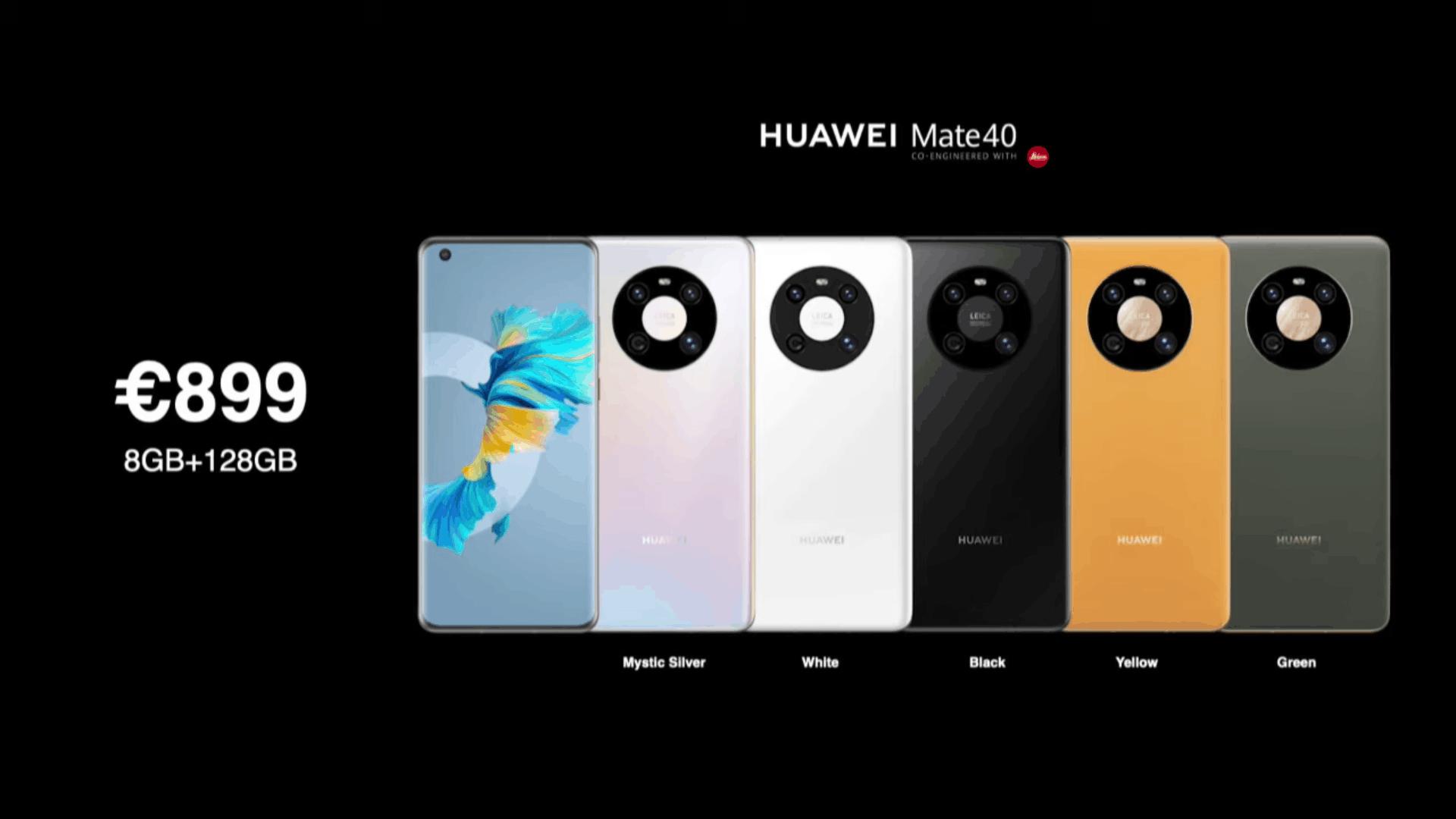 Huawei Mate 40 series pricing 3