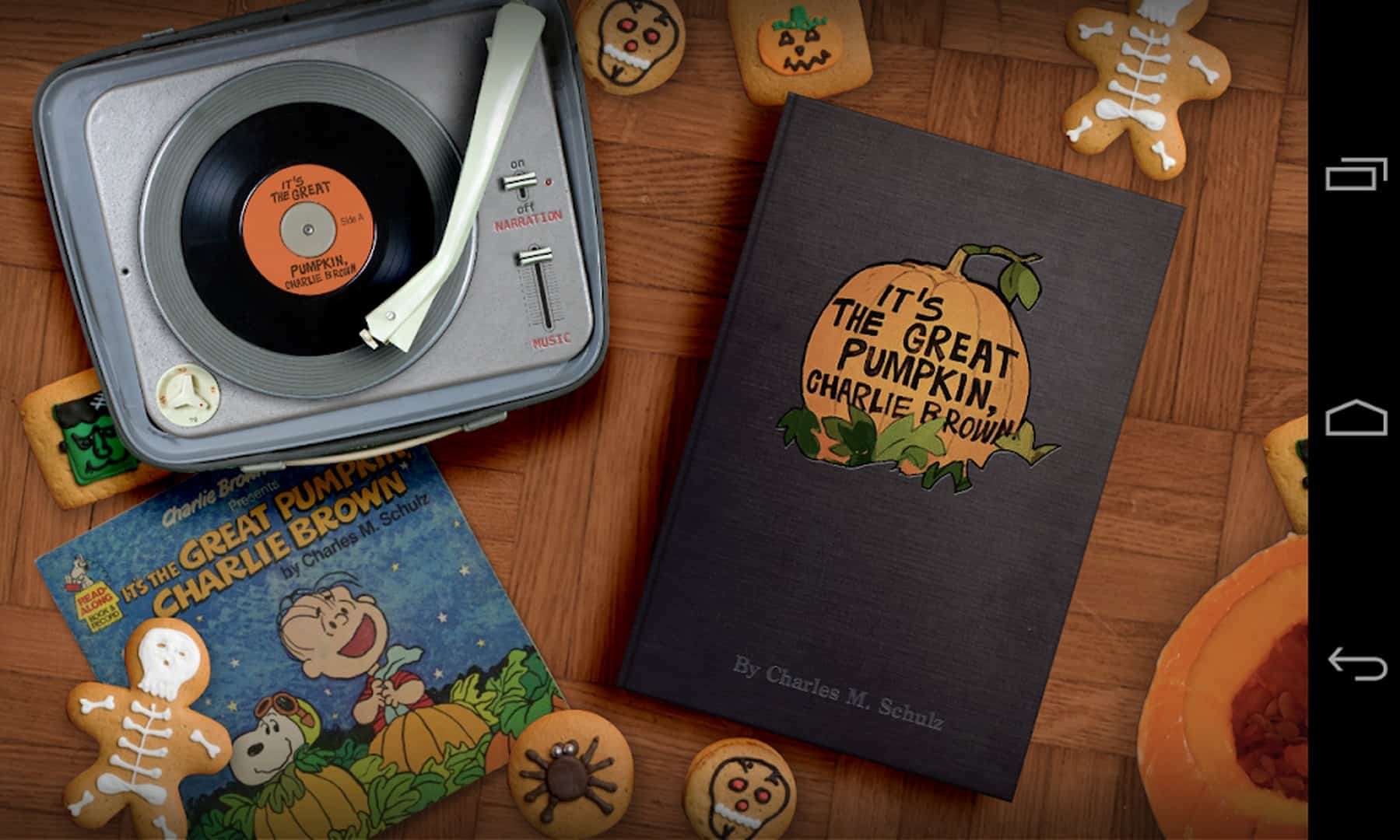 Its the Great Pumpkin Charlie Brown app image