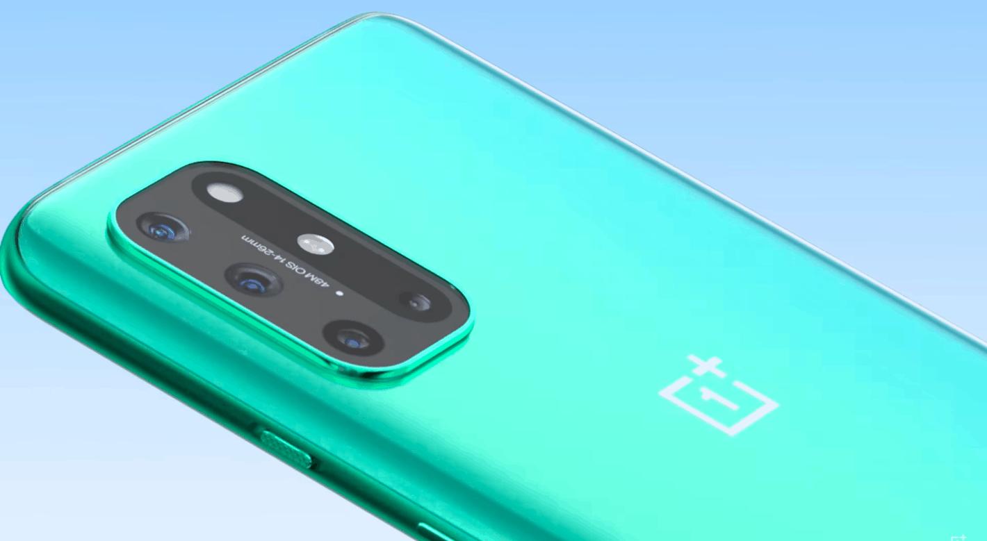 OnePlus 8T Aquamarine Green Color