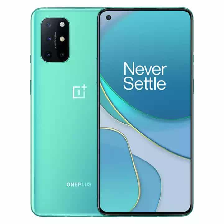 OnePlus 8T Aquamarine Green render leak 1