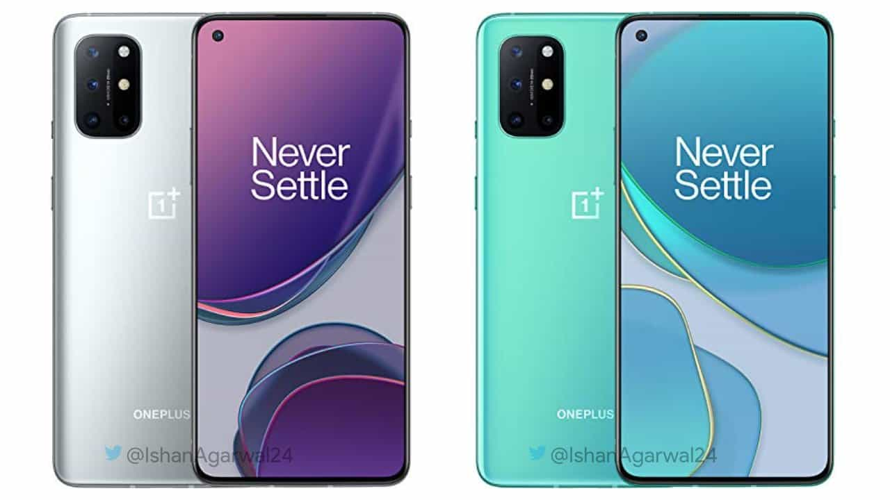 OnePlus 8T both colors leak