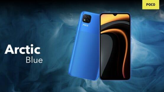 POCO C3 Arctic Blue