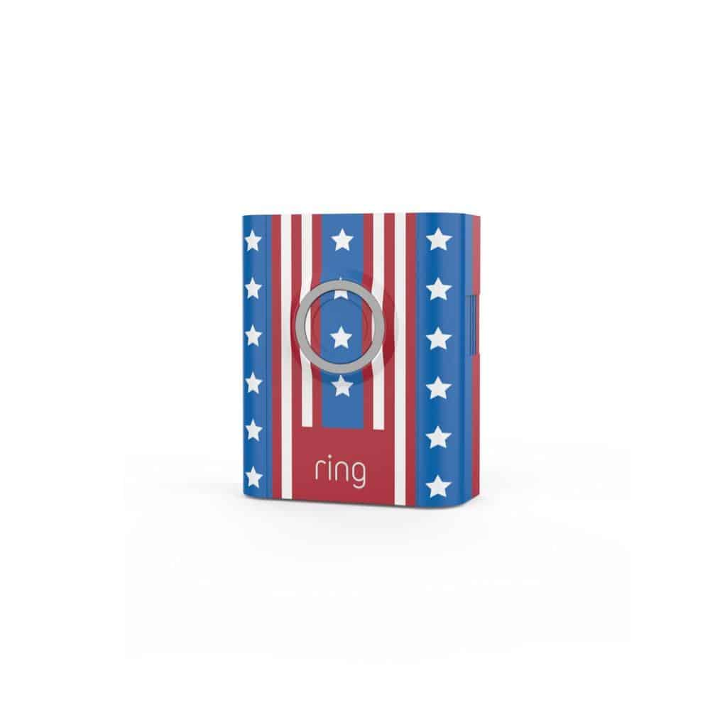 Ring Interchangeable Faceplate Americana