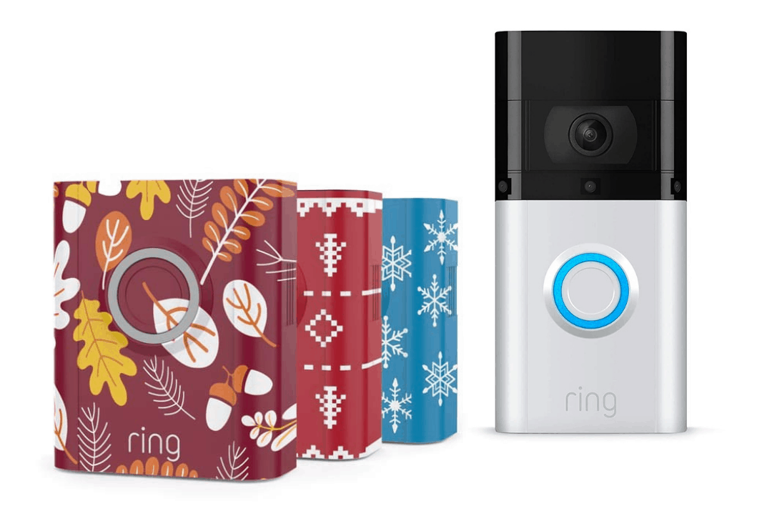 Ring Interchangeable Faceplate Holiday