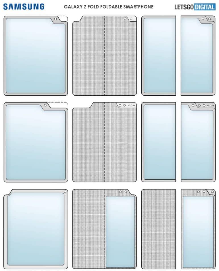 Samsung Folding Display Cutout
