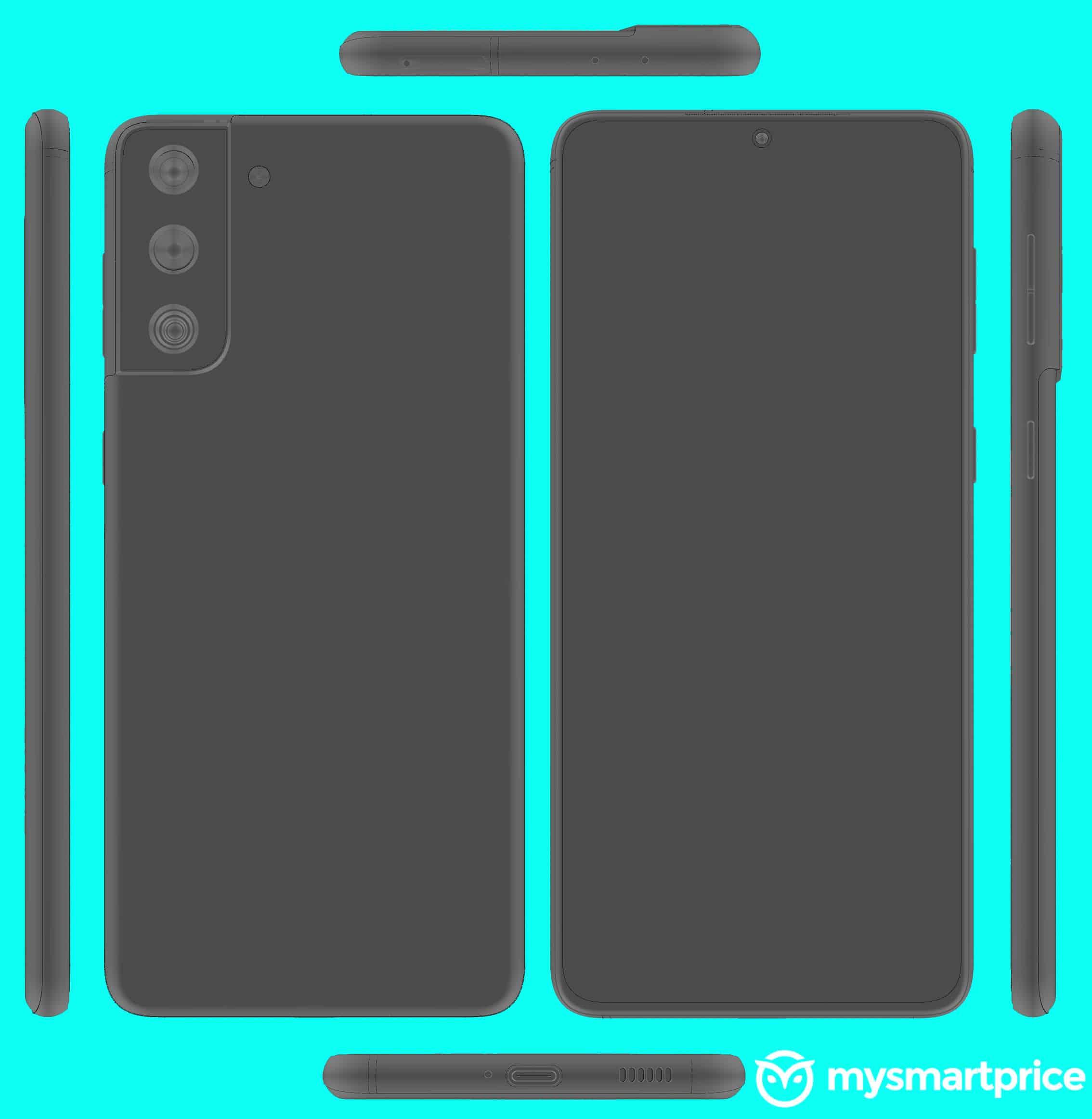 Samsung Galaxy 21 image render leak 2