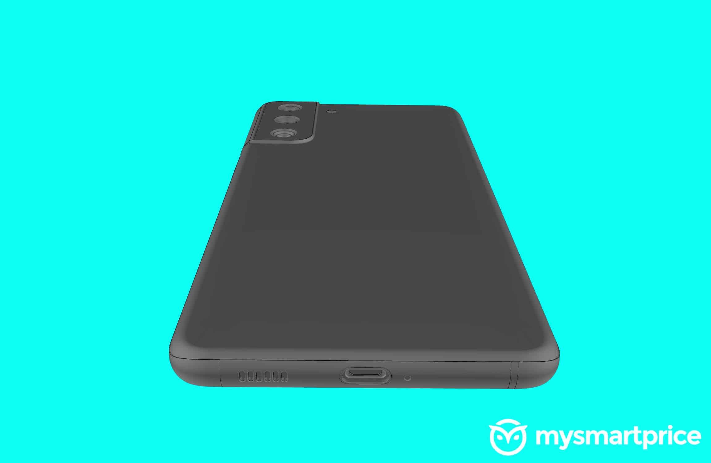 Samsung Galaxy 21 image render leak 5