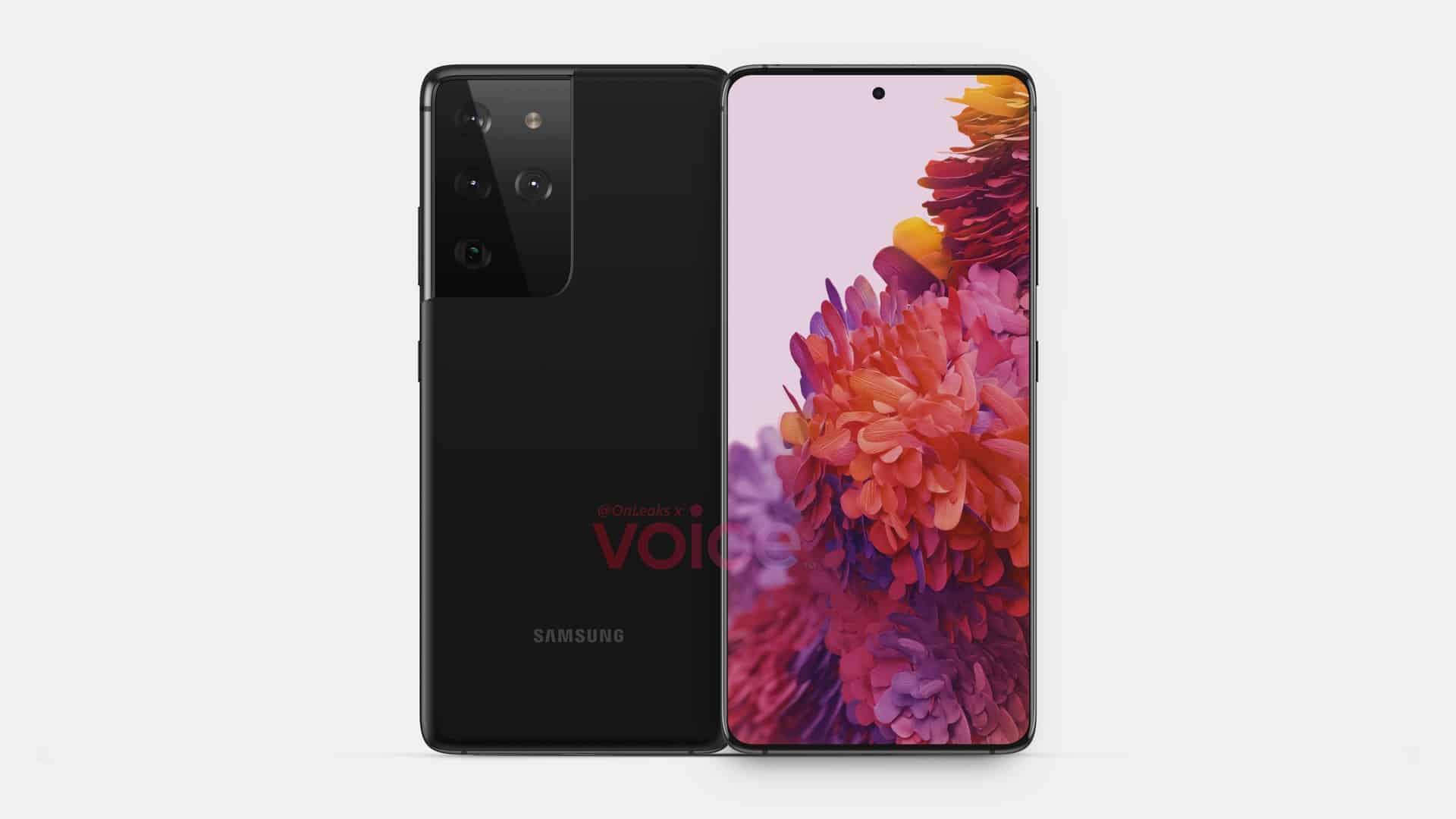 Samsung Galaxy S21 Ultra leak 1