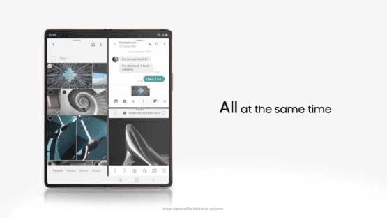 Samsung Galaxy Z Fold 2 promo 1