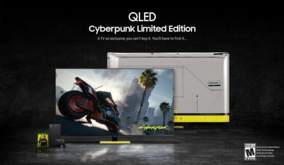 Samsung QLED Xbox Cyberpunk 2077 TV