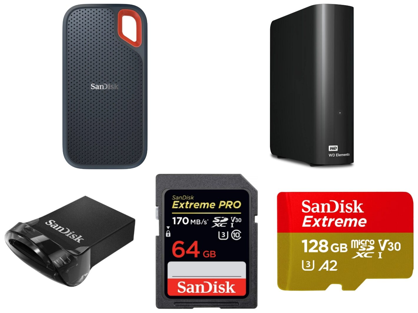 SanDisk and WD Prime Day 2020