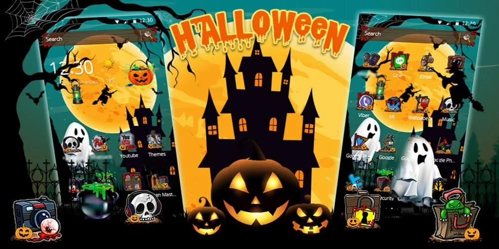 Scary Night Halloween Theme