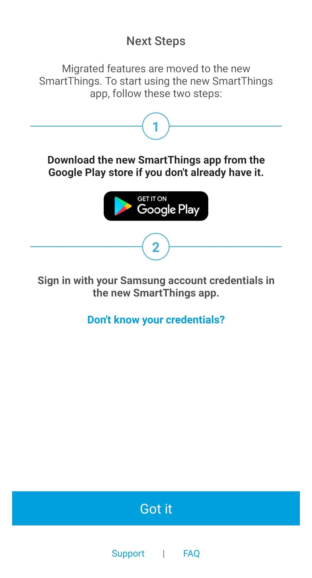 SmartThings Classic migration 4