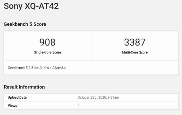 Sony Xperia 1 II 12GB RAM Benchmark